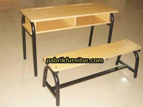 Meja Kursi siswa double