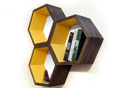 Rak-Dinding-Hexagonal2